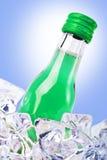 butelka lód Zdjęcia Stock