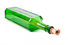 butelka list Zdjęcie Stock