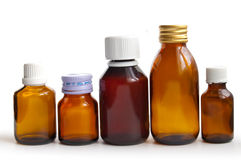 butelka medyczna Obrazy Stock