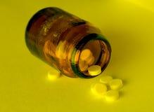 butelka narkotyki szkła zdjęcia stock
