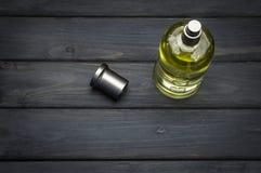 Butelka pakunek popielaty szef Butelkował woń dla mężczyzna Hugo Boss Zdjęcia Stock