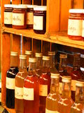 butelka słoiki Fotografia Royalty Free