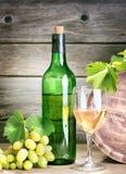 butelka winograd Zdjęcie Royalty Free