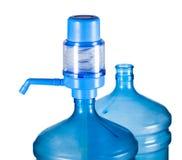Butelka woda Obrazy Stock