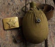 butelka wojskowy nawadnia obrazy stock