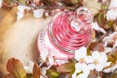 Istotny olej i kwiaty obrazy royalty free