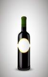 butelka zamykający etykietki wino Obrazy Stock