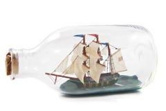 butelki łódkowata miniatura zdjęcia royalty free