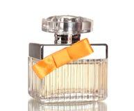 butelki łęku pomarańczowy pachnidło Fotografia Royalty Free