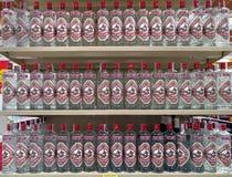 Butelki Anyżowa ajerówka Fotografia Royalty Free