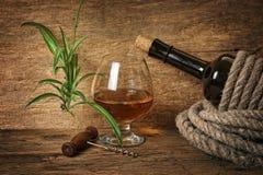 butelki arkany wino zawijający fotografia royalty free