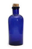 butelki błękitny apteka Zdjęcia Stock