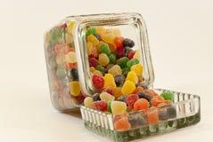 butelki cukierków owoc Fotografia Royalty Free