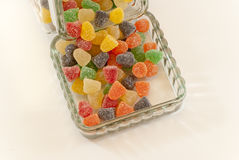 butelki cukierków owoc Obraz Royalty Free