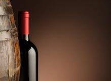 butelki czerwone wino Obraz Royalty Free