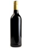 butelki czerwone wino Fotografia Stock