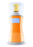 butelki dezodoranta pomarańcze Zdjęcie Stock