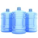 butelki duży woda Obrazy Stock