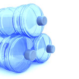 butelki duży woda Fotografia Stock