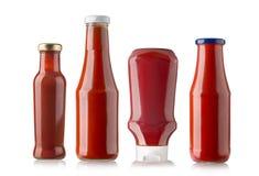 Butelki ketchup Obraz Stock