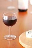 butelki kieliszki wina Fotografia Stock