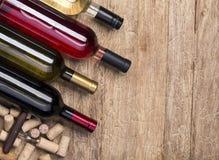 butelki korków wino Fotografia Stock