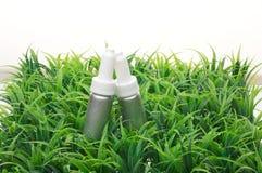 butelki kosmetyków woda Obrazy Royalty Free