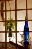 butelki kwiatów szklany smak Obraz Royalty Free