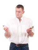 butelki mężczyzna pachnidło zdjęcia royalty free