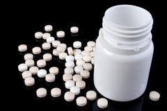 butelki medycyny pigułki Zdjęcie Stock