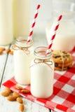 butelki mleka 2 Obrazy Royalty Free