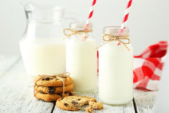 butelki mleka 2 Fotografia Stock
