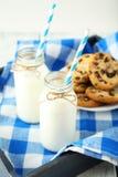 butelki mleka 2 Zdjęcie Stock
