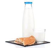butelki mleka Obrazy Stock
