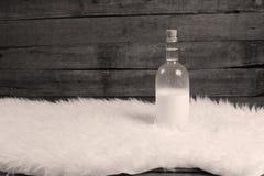 butelki mleka Zdjęcie Royalty Free
