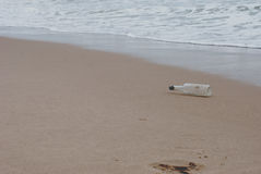 butelki morze Zdjęcie Stock
