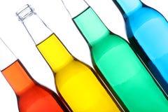 butelki odizolowane white Fotografia Royalty Free