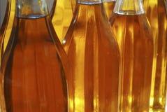 butelki oliwią oliwki Obraz Royalty Free
