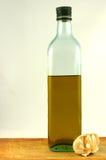 butelki oliwka oleju Zdjęcie Stock