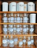 butelki opróżniają perfumowanie Obraz Stock