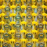 butelki opróżnione Zdjęcia Royalty Free