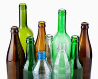 butelki opróżnione Fotografia Royalty Free