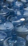 butelki opróżnione wody Obrazy Stock