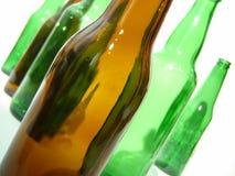 butelki po piwie Zdjęcie Royalty Free