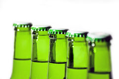 butelki po piwie Obrazy Royalty Free