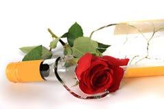 butelki róży wino Fotografia Royalty Free