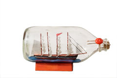 butelki sailship obraz royalty free