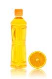 butelki soku pomarańcze Zdjęcie Royalty Free