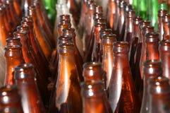 butelki szkła Obraz Royalty Free