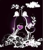 butelki szkła ilustracja Fotografia Royalty Free